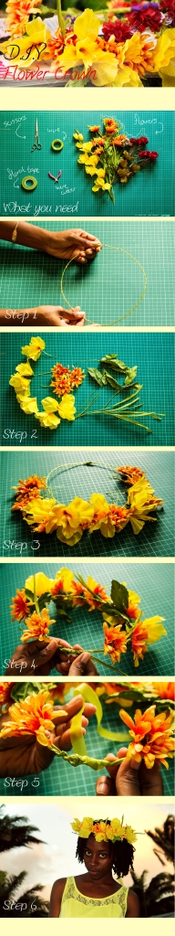 Flower Crown Diy Tutorial